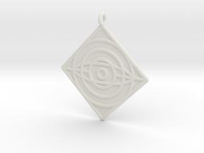 Philosophy Symbol in White Premium Versatile Plastic