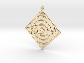 Philosophy Symbol in 14k Gold Plated Brass