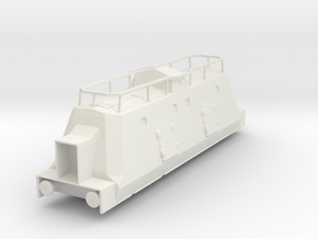 Panzerzüge kommandowagen armored train ho in White Natural Versatile Plastic