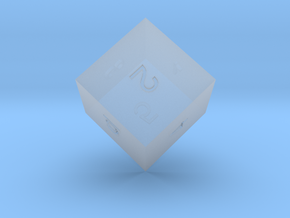 ENUMERATED HEXAHEDRON in Smooth Fine Detail Plastic
