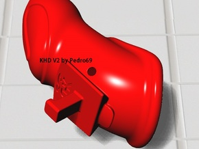 """KHD V2 closed """"Short edition"""" - tube in White Strong & Flexible Polished"""