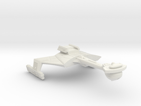 3788 Scale Klingon C7K Heavy Battlecruiser WEM in White Natural Versatile Plastic
