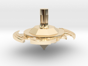 Bey spinner in 14k Gold Plated Brass