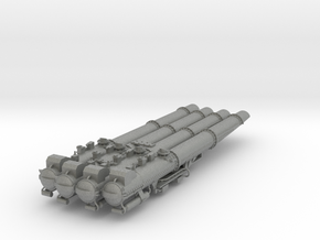Torpedovierlingswerfer für Graf Spee 1:100 in Gray Professional Plastic
