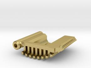 Graflex Master - Part7 - SD Cap in Natural Brass