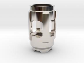 New Emitter  in Rhodium Plated Brass
