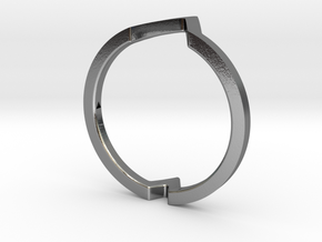 Ring - Wondr in Polished Silver: 4 / 46.5