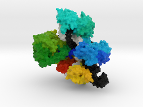 CRISPR-Cas9 in Natural Full Color Sandstone