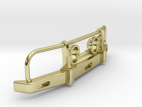 RC Toyota Hilux Bullbar with Lights 1:24 scale in 18k Gold