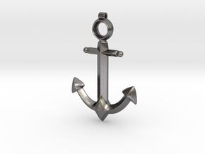 Anchor Pendant - Jaina - World of Warcraft in Polished Nickel Steel