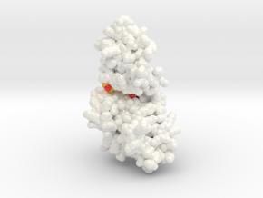 DYRK2 Curcumin Complex (Publication) in Glossy Full Color Sandstone: Small