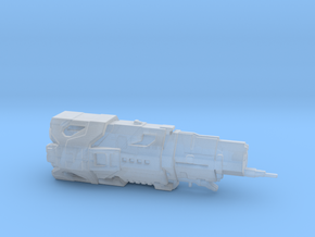 UNSC Halcyon Class Cruiser 3cm version in Smooth Fine Detail Plastic