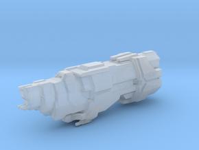 UNSC Marathon Class Cruiser 3cm version in Smooth Fine Detail Plastic