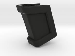 Glock 17 Magazine Grip - Medium in Black Natural Versatile Plastic