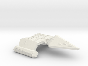 3788 Scale Neo-Tholian Strike Carrier (NCV) SRZ in White Natural Versatile Plastic