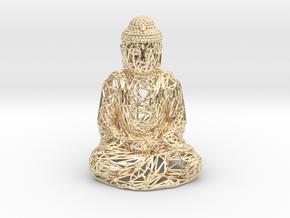 Buddha in 14K Yellow Gold