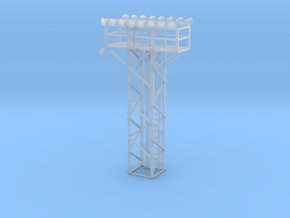 Light Tower Top With Double Light Assembly 1-87 HO in Smooth Fine Detail Plastic
