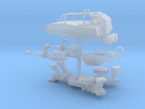 Bad Guys Anti-aircraft Gun in Smoothest Fine Detail Plastic