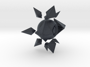 Sagiras Ghost Shell in Black Professional Plastic