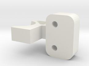 CW01 Lunchbox Pumpkin Axel Brace in White Natural Versatile Plastic