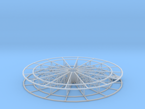 Riesenrad / Ferris wheel 1:87 in Smooth Fine Detail Plastic