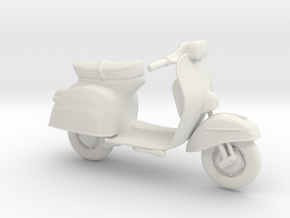 Printle Thing Scooter 01 - 1/20 in White Natural Versatile Plastic