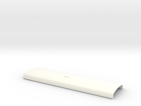1:43 RF Green Line Roof in White Processed Versatile Plastic