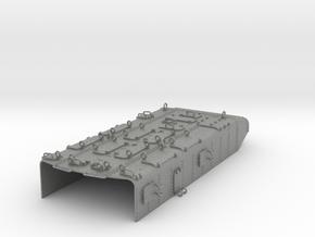 Panzerschutz Torpedovierling Graf Spee 1:100 in Gray Professional Plastic