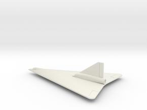 (1:144) Horten Ho X (Entwurf II) in White Natural Versatile Plastic