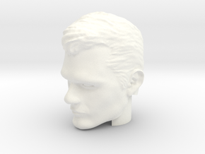 Superman Head | Henry Cavill in White Processed Versatile Plastic