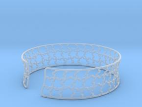 jigsaw pattern cuff in Smooth Fine Detail Plastic: Medium