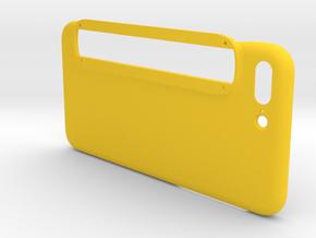 iPhone 7 Plus Case for Structure Sensor in Yellow Processed Versatile Plastic