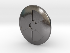Shooter Knob - Nuclear (TNA) in Polished Nickel Steel