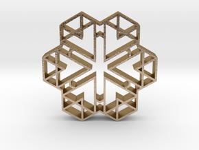 hangerless pendant 16 in Polished Gold Steel