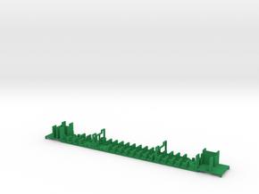 SJ B7 interiör in Green Processed Versatile Plastic