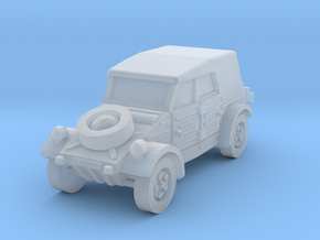 kubelwagen scale 1/160 in Smooth Fine Detail Plastic