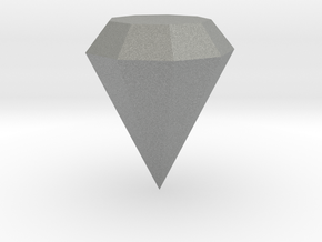Diamond in Gray Professional Plastic