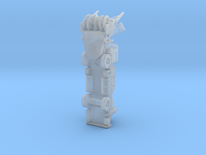 OK H gen3 ver3 blower rev2 in Smoothest Fine Detail Plastic: 1:400