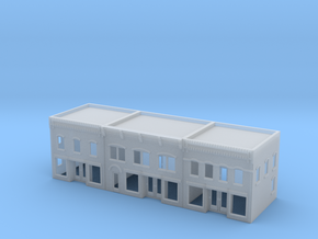 Three city Buildings 285 scale in Smooth Fine Detail Plastic