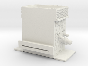 1/64 Philadelphia Pump with gully in White Natural Versatile Plastic