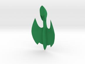 Romulan - Shadow in Green Processed Versatile Plastic
