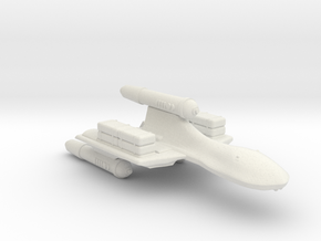 3788 Scale Romulan SparrowHawk-H Cargo Transport in White Natural Versatile Plastic