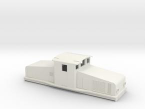 Swedish SJ electric locomotive type Ha - H0-scale in White Natural Versatile Plastic