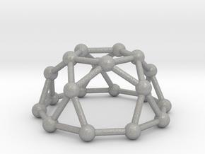 0736 J06 Pentagonal Rotunda V&E (a=1cm) #3 in Aluminum