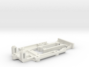 Chassis for Mini Cooper 1:24th scale (model kit) in White Natural Versatile Plastic