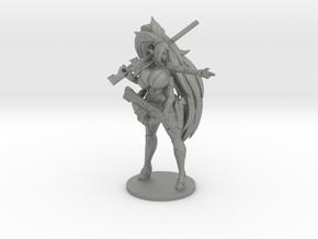 Kira Pewpew 7.1cm in Gray Professional Plastic