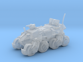 Sci Fi Amored Vehicle APC MONK / uniqe in Smooth Fine Detail Plastic