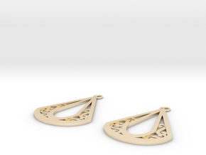 Calyson earrings in 14K Yellow Gold: Small