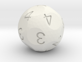 2d4 (then pick the highest) in White Natural Versatile Plastic