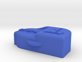 Battery Cap for Nikon EN-EL15 - Akkuabdeckung in Blue Processed Versatile Plastic